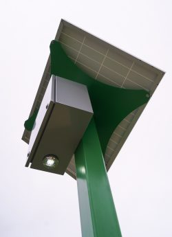 NewTek Energy Grasshopper installation